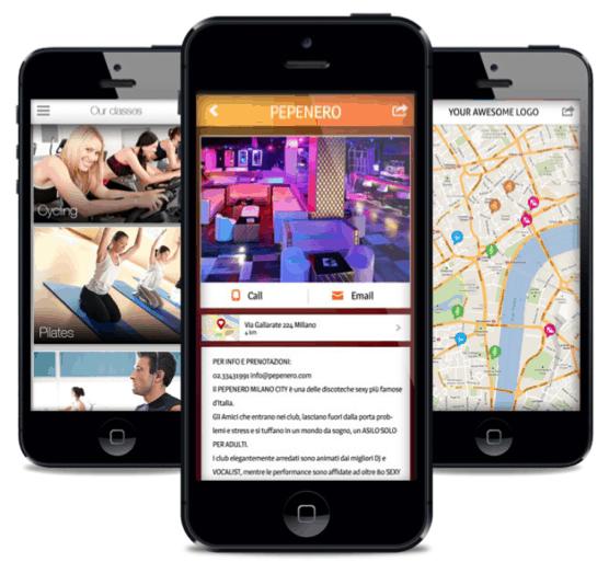 App&Map<br/>la soluzione a basso costo per il tuo business