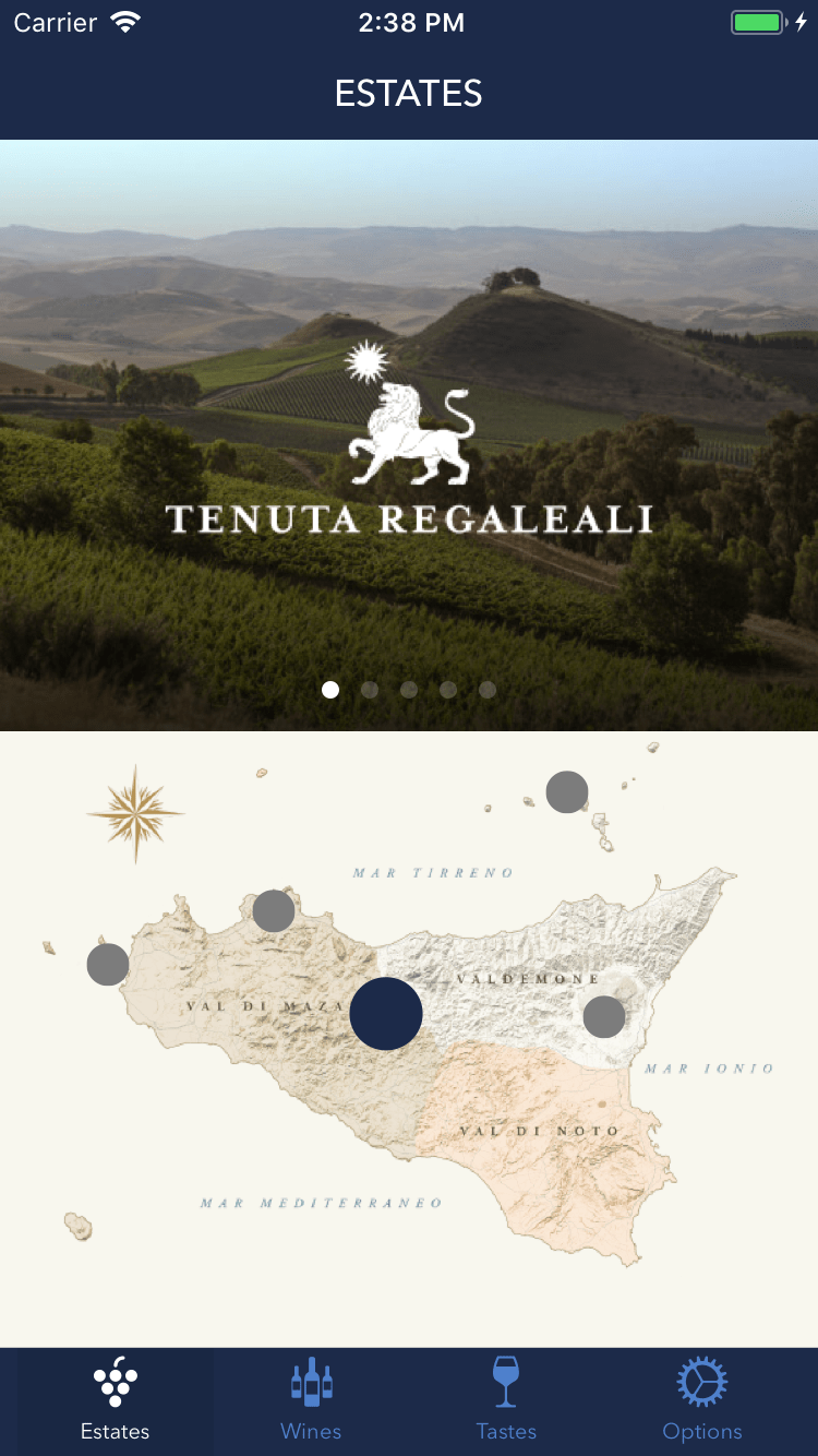 Tasca d'Almerita – Wines & Estates App 1