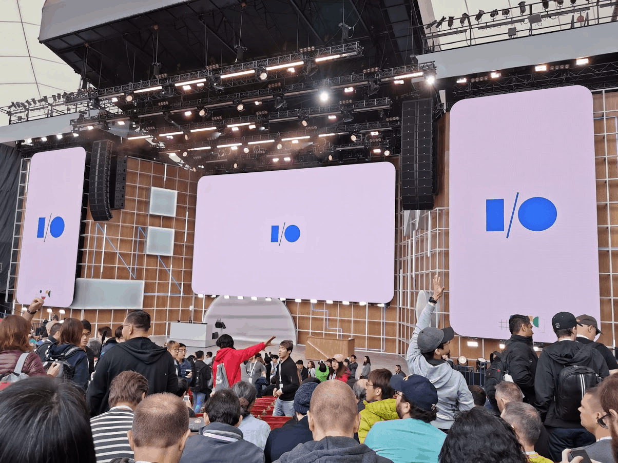 Carlo at Google I/O 2019