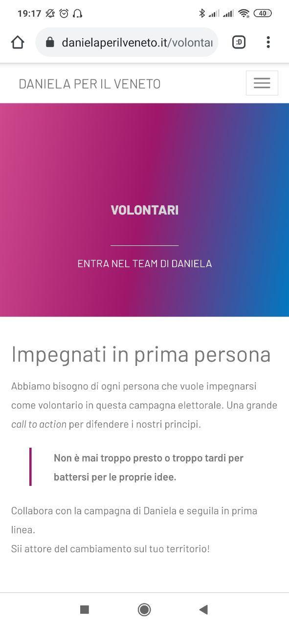 Daniela per il Veneto 8
