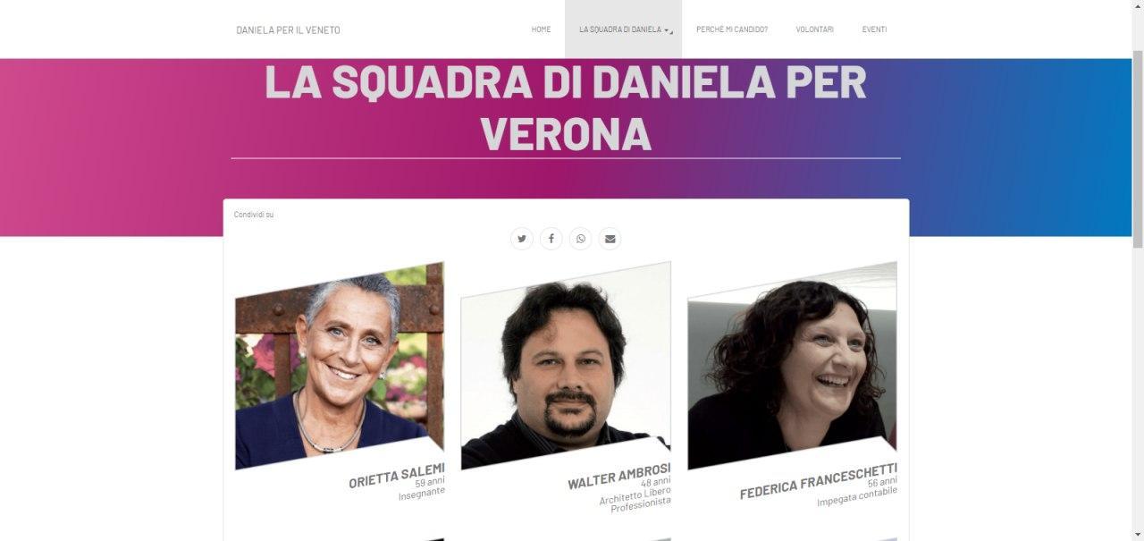 Daniela per il Veneto 1